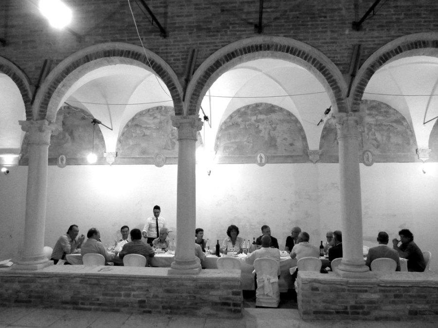 Cena al chiostro – Chiesa delle Grazie